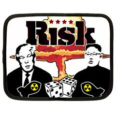 Nuclear Explosion Trump And Kim Jong Netbook Case (xl)