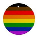 Philadelphia pride flag Ornament (Round) Front