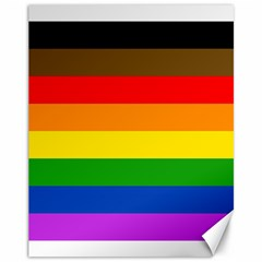 Philadelphia Pride Flag Canvas 11  X 14