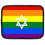 GAY PRIDE Israel Flag Netbook Case (XL)  Front