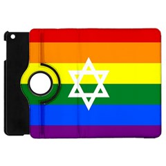 Gay Pride Israel Flag Apple Ipad Mini Flip 360 Case