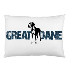 Great Dane Pillow Case (two Sides)