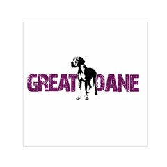 Great Dane Small Satin Scarf (square)
