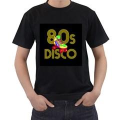 Roller Skater 80s Men s T Shirt (black)