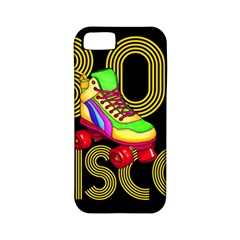 Roller Skater 80s Apple Iphone 5 Classic Hardshell Case (pc+silicone)