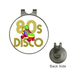 Roller Skater 80s Hat Clips With Golf Markers