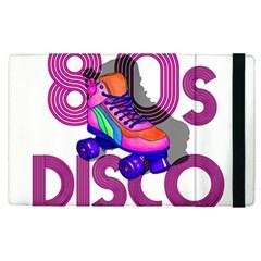 Roller Skater 80s Apple Ipad Pro 9 7   Flip Case