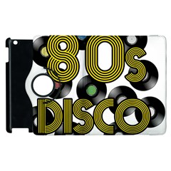 80s Disco Vinyl Records Apple Ipad 2 Flip 360 Case