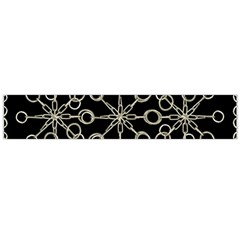 Ornate Chained Atrwork Flano Scarf (large)
