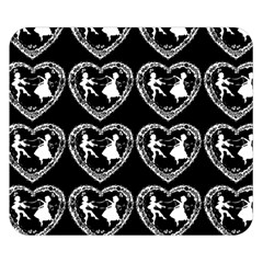 Classic Valentine Cameo Double Sided Flano Blanket (small)
