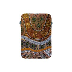 Aboriginal Traditional Pattern Apple Ipad Mini Protective Soft Cases