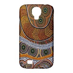 Aboriginal Traditional Pattern Samsung Galaxy S4 Classic Hardshell Case (pc+silicone)
