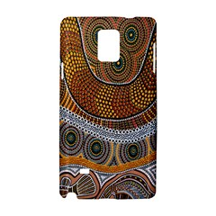 Aboriginal Traditional Pattern Samsung Galaxy Note 4 Hardshell Case