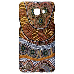 Aboriginal Traditional Pattern Samsung C9 Pro Hardshell Case