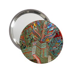 Traditional Korean Painted Paterns 2 25  Handbag Mirrors
