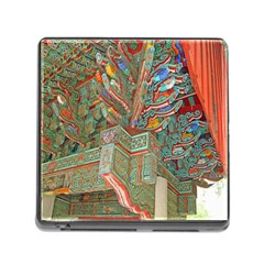 Traditional Korean Painted Paterns Memory Card Reader (square)