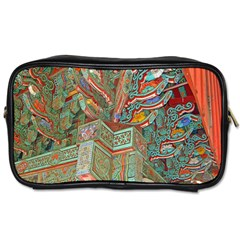 Traditional Korean Painted Paterns Toiletries Bags 2 Side