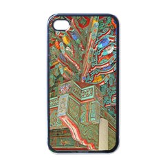 Traditional Korean Painted Paterns Apple Iphone 4 Case (black)