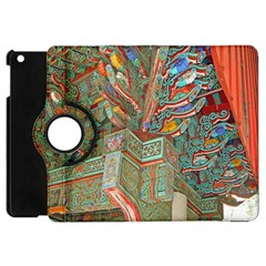 Traditional Korean Painted Paterns Apple Ipad Mini Flip 360 Case