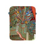 Traditional Korean Painted Paterns Apple iPad 2/3/4 Protective Soft Cases Front