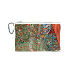 Traditional Korean Painted Paterns Canvas Cosmetic Bag (s)