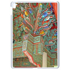 Traditional Korean Painted Paterns Apple Ipad Pro 9 7   White Seamless Case