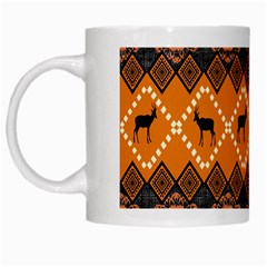 Traditiona  Patterns And African Patterns White Mugs
