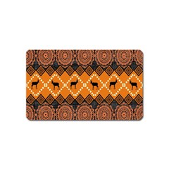 Traditiona  Patterns And African Patterns Magnet (name Card)