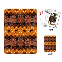 Traditiona  Patterns And African Patterns Playing Card
