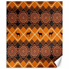 Traditiona  Patterns And African Patterns Canvas 8  X 10