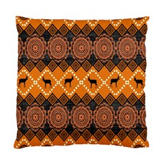 Traditiona  Patterns And African Patterns Standard Cushion Case (two Sides)