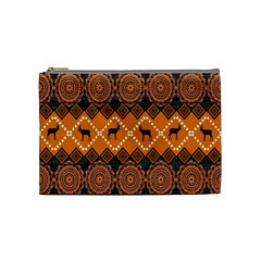Traditiona  Patterns And African Patterns Cosmetic Bag (medium)