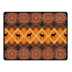 Traditiona  Patterns And African Patterns Fleece Blanket (small)