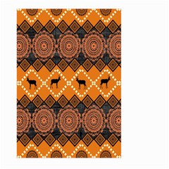 Traditiona  Patterns And African Patterns Large Garden Flag (two Sides)
