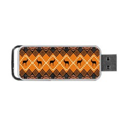 Traditiona  Patterns And African Patterns Portable Usb Flash (one Side)