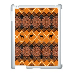 Traditiona  Patterns And African Patterns Apple Ipad 3/4 Case (white)