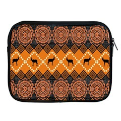 Traditiona  Patterns And African Patterns Apple Ipad 2/3/4 Zipper Cases