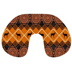Traditiona  Patterns And African Patterns Travel Neck Pillows