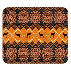 Traditiona  Patterns And African Patterns Double Sided Flano Blanket (small)