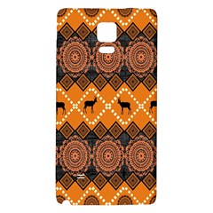 Traditiona  Patterns And African Patterns Galaxy Note 4 Back Case