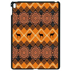 Traditiona  Patterns And African Patterns Apple Ipad Pro 9 7   Black Seamless Case