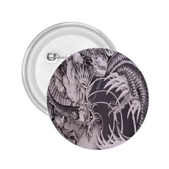 Chinese Dragon Tattoo 2 25  Buttons