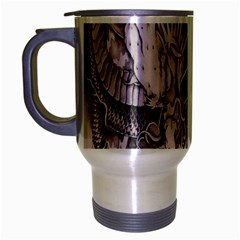 Chinese Dragon Tattoo Travel Mug (silver Gray)