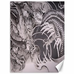 Chinese Dragon Tattoo Canvas 36  X 48