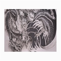 Chinese Dragon Tattoo Small Glasses Cloth (2 Side)