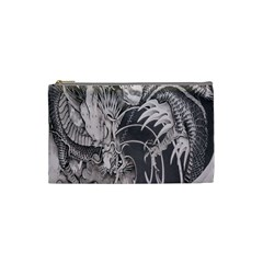 Chinese Dragon Tattoo Cosmetic Bag (small)