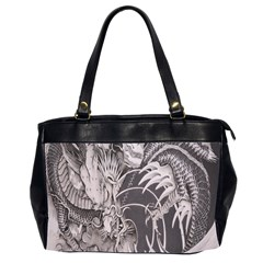 Chinese Dragon Tattoo Office Handbags (2 Sides)