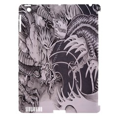 Chinese Dragon Tattoo Apple Ipad 3/4 Hardshell Case (compatible With Smart Cover)