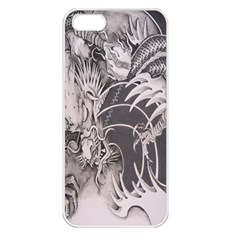 Chinese Dragon Tattoo Apple Iphone 5 Seamless Case (white)