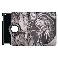 Chinese Dragon Tattoo Apple Ipad 3/4 Flip 360 Case